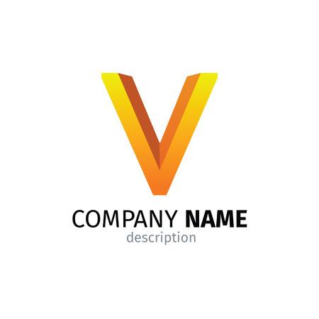 Letter V logo icon design template elements 矢量图像