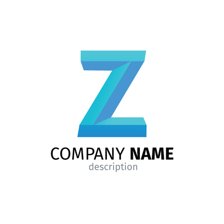 Letter Z logo icon design template elements Ilustração