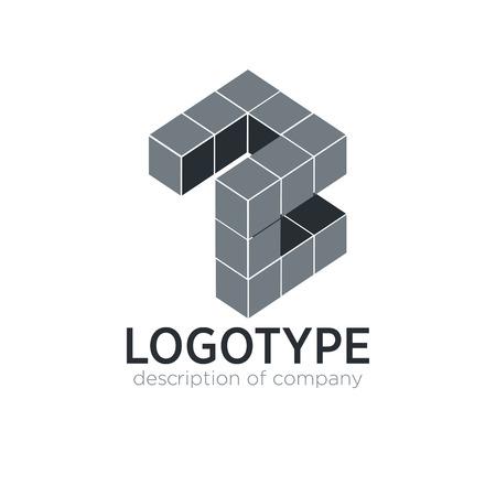 Letter Z cube figure logo icon design template elements