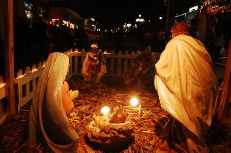 Birth of the child Jesus