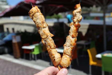 Shish kebab Фото со стока - 98870219