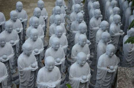 Japanese Jizo Statues - Protector of Children