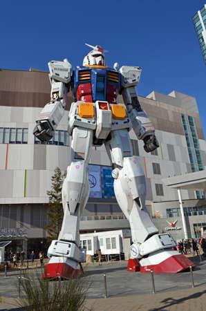 Giant Guandam statue in Tokyo, Japan 新聞圖片