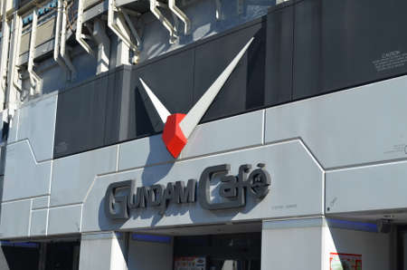 Gundam Cafe in Japan