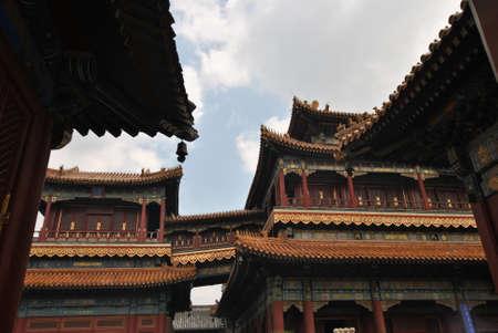 Lama Temple in Beijing, China