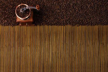 coffe bean: Fondo de caf� Foto de archivo