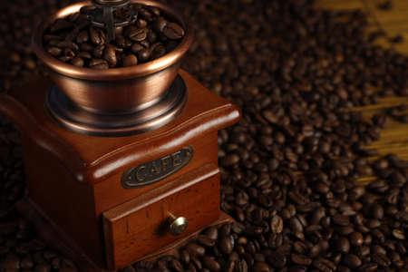 młynek do kawy: Grinder kawy, Gringing Zdjęcie Seryjne