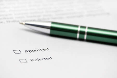 Approved of not? Stock Photo - 6066036