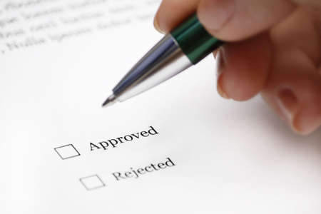 Approved of not? Stock Photo - 6066037