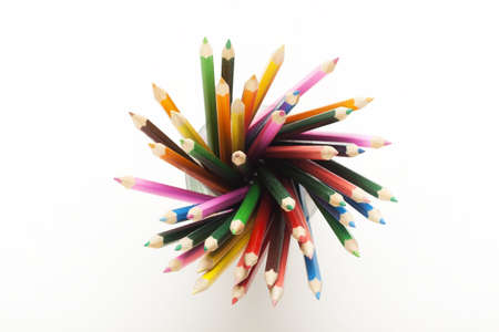 Colored Pencils Background Stock Photo - 6120144