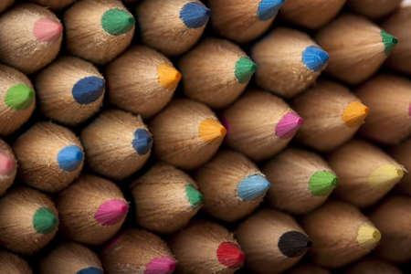 Colored Pencils Macro Background Stock Photo - 6120171