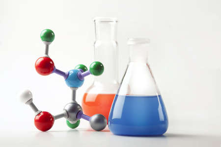 Nivel molecular!  Foto de archivo - 6120142
