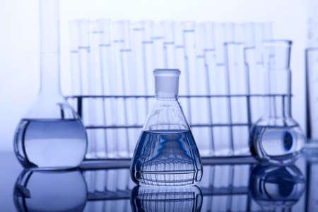test tube holder: Labolatory Glassware Stock Photo