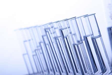 magnified: Labolatory Vials