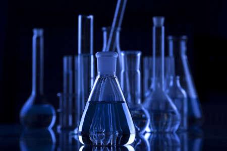 pipeta: Ciencia oscura  Foto de archivo