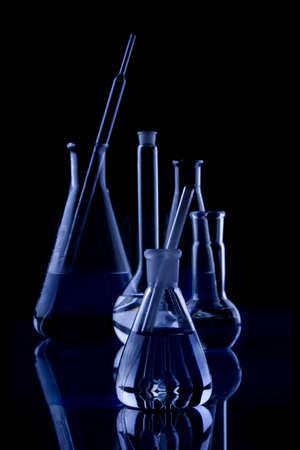 test tube holder: labolatory Glassware in Black
