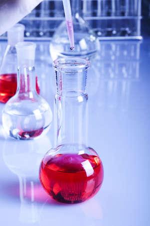 presentational: Experiments Stock Photo