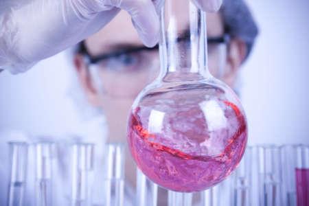 chemic: Scientist ricerca  Archivio Fotografico