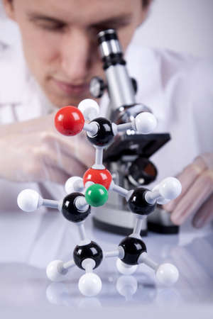 Scientist Examing Stock Photo - 6188156