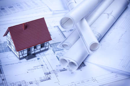 Home plans Stock Photo - 6303407