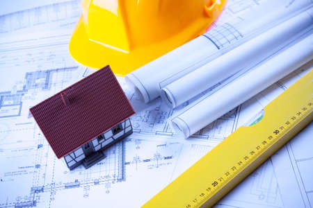 Architecture plans Stock Photo - 6303284