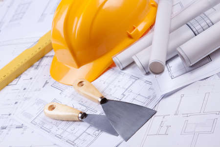 Home plans Stock Photo - 6303289