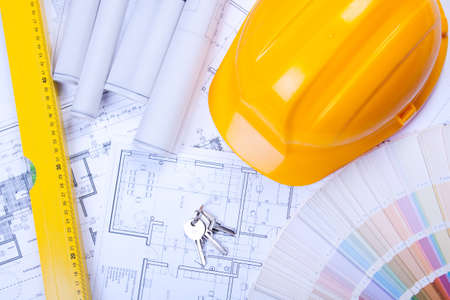 House Planning Stock Photo - 6303290