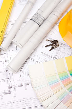 house planning Stock Photo - 6303300