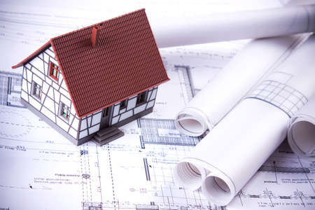 architecture plans: Construction plans