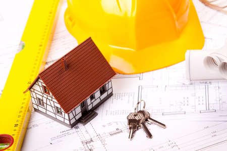 Building Plans Stock Photo - 6303435