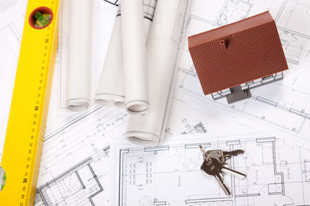 Construction project Stock Photo - 6303609