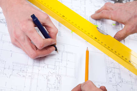 Architect Working Stock Photo - 6303639