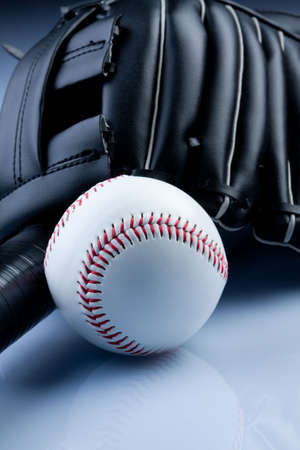 pelota beisbol: Ball de b�isbol y el guante