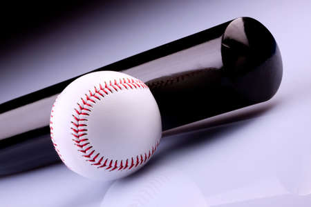 Baseball bat and ball Stock Photo - 6475830