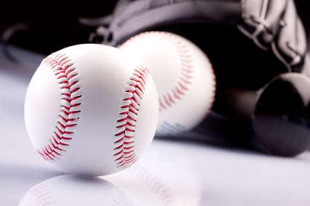 pelota beisbol: B�isbol Ball!  Foto de archivo