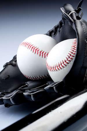 Baseball Balls closeup Stock Photo - 6475823