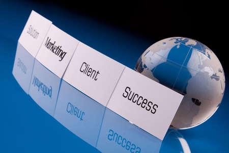 buisness: Success Concept Stock Photo