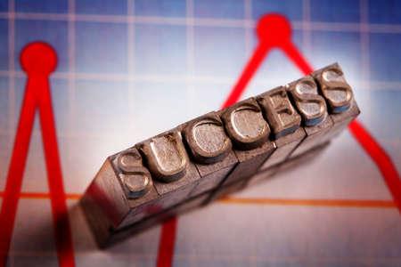 international bank account number: Success!!! Stock Photo