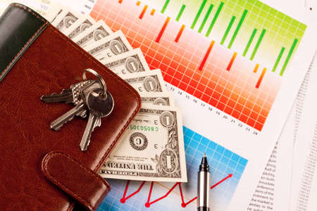 international bank account number: Home Expenses Stock Photo