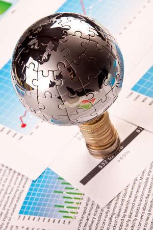 financial statement: World on Money