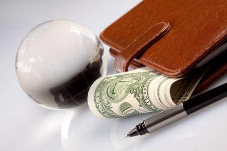 international bank account number: Money Stock Photo