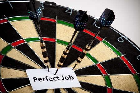 Perfect job! Stock Photo