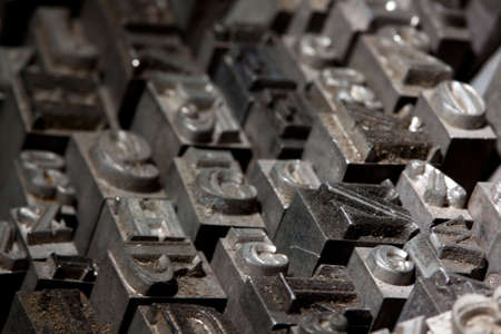 monotype: Metal font