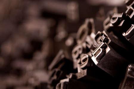 Metal typo Stock Photo - 6775122