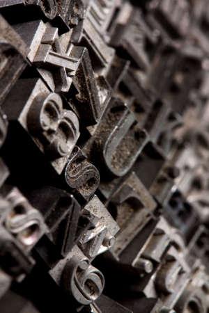 Metal typo Stock Photo - 6775156