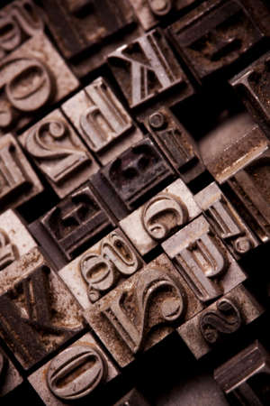 Metal typo Stock Photo - 6775149