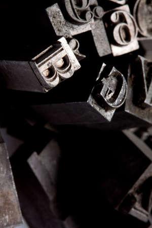 Metal typo Stock Photo - 6775279