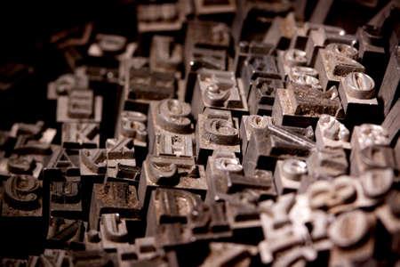 Metal typo Stock Photo - 6775221