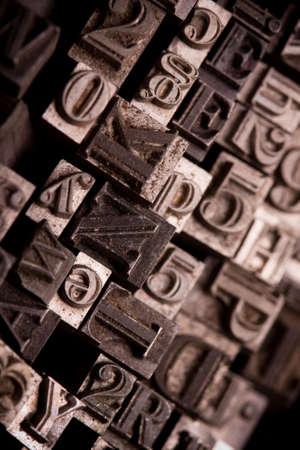Metal Font photo