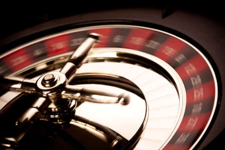 roue de fortune: Jeux de casino ! Banque d'images